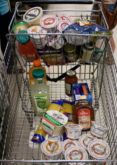 Alfa img  Showing gt Grace Full Grocery Cart