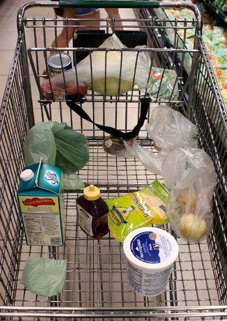 Image result for half full shopping cart