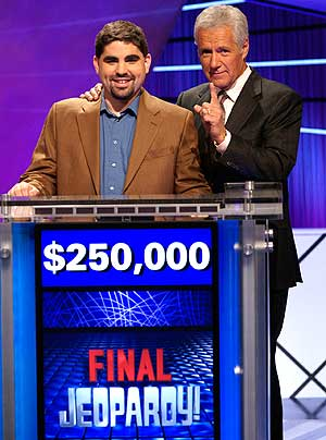 Dan Pawson and Alex Trebek